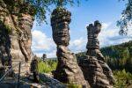 Herkules Säulen im Bielatal