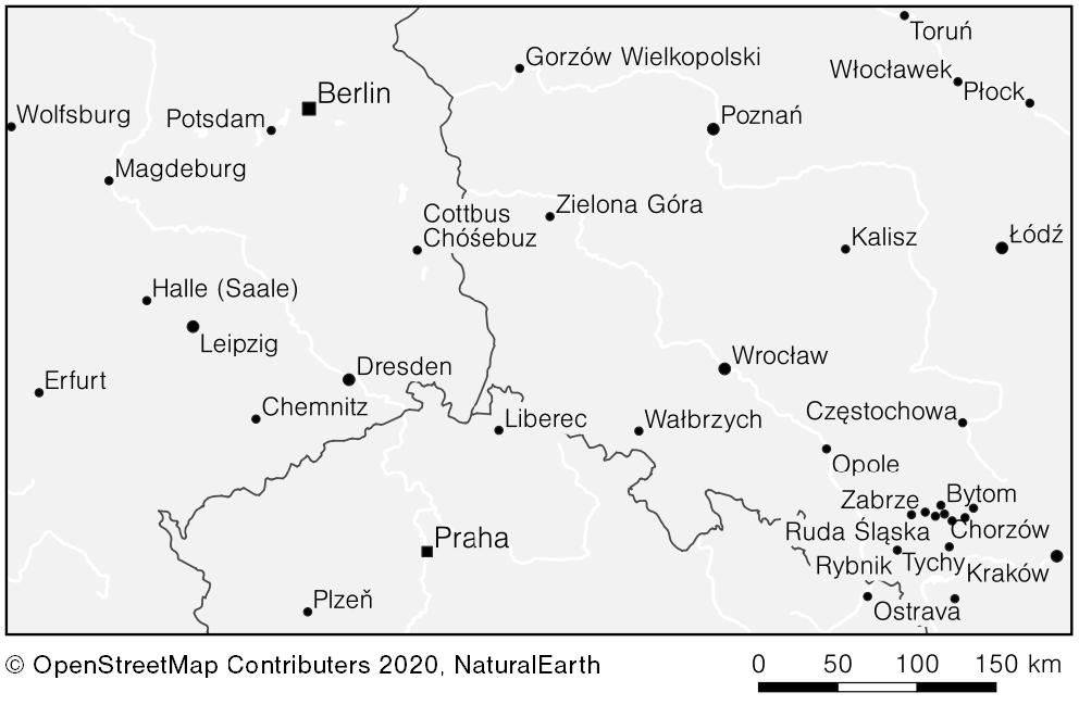 Auswahl nach der Bevölkerungszahl