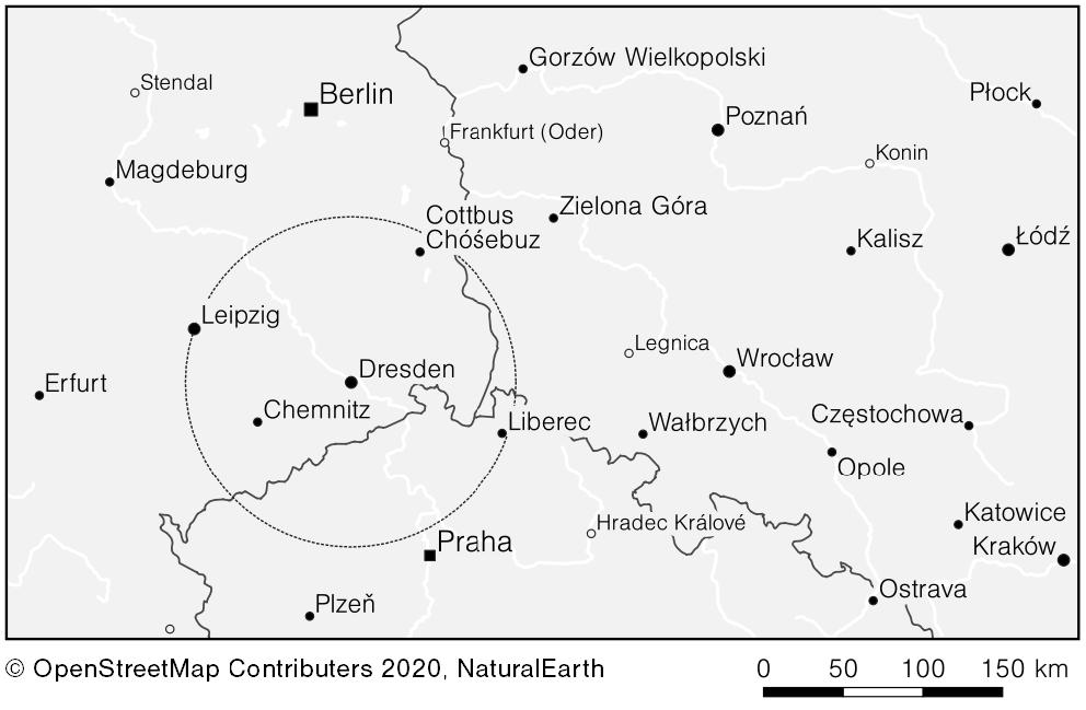 Darstellung der Diskreten Dominanz für Dresden